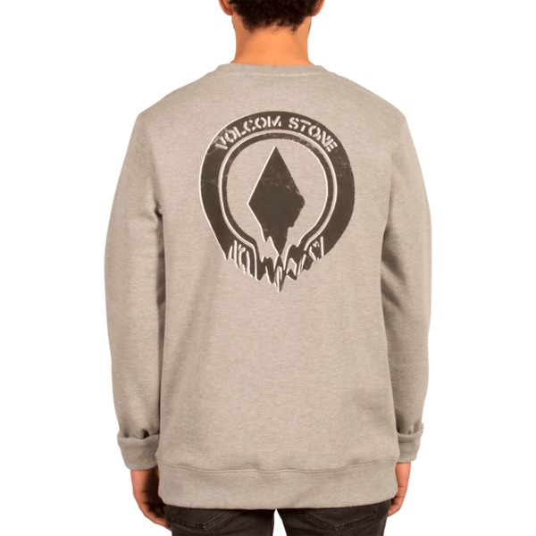 sweat-shirt-gris-supply-stone-grey-volcom