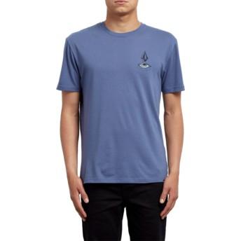T-shirt à manche courte bleu Burch Eye Deep Blue Volcom