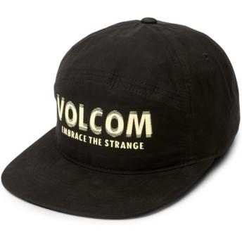 Casquette plate noire ajustable Volstranger Black Volcom