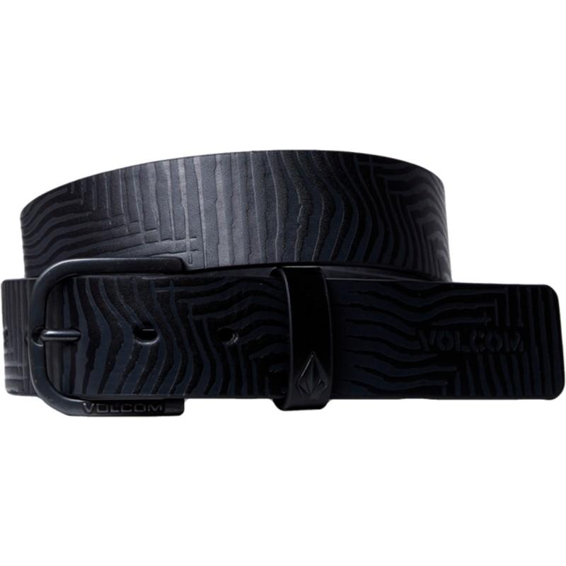 Ceinture noire Empty Black Volcom  acheter en ligne sur Caphunters 533bf6a7986