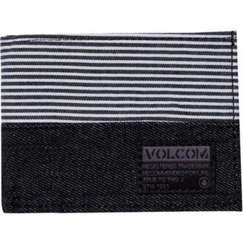 Portefeuille noir Ecliptic Cloth Black Volcom