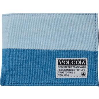 Portefeuille bleu Ecliptic Cloth Indigo Volcom