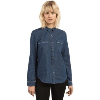 Chemise à manche longue bleue Cham Jam Deep Water Volcom
