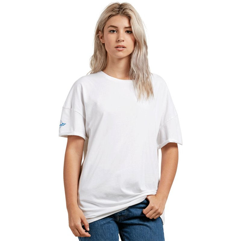 Blanc Shirt Splif Acheter Volcom Courte White Manche T À En Stone IaxqwwpC
