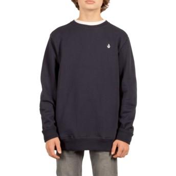 Sweat-shirt bleu marine pour enfant Single Stone Navy Volcom