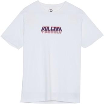 T-shirt à manche courte blanc pour enfant Black Hole White Volcom