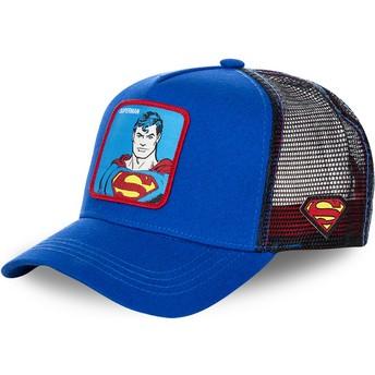 Casquette trucker bleue Superman classique DC2 SUP DC Comics Capslab