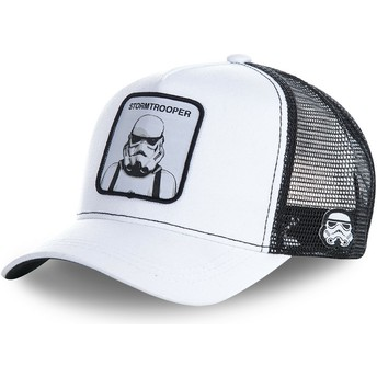 Casquette trucker blanche Stormtrooper WA Star Wars Capslab