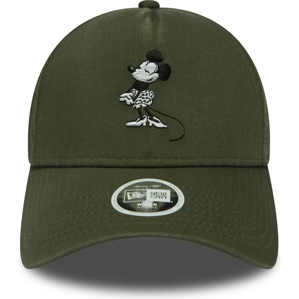 casquette-courbee-verte-snapback-9forty-a-frame-minnie-mouse-walt-disney-new-era