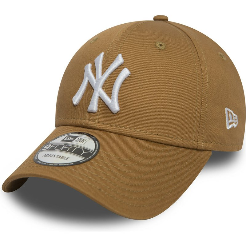 41a026ef84622 casquette-courbee-marron-claire-ajustable-9forty-essential-new-