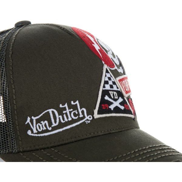 casquette-trucker-marron-murph1b-von-dutch
