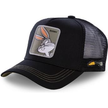Casquette trucker noire Bugs Bunny BUN1 Looney Tunes Capslab