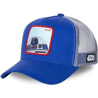 Casquette trucker bleue R2-D2 R2D1 Star Wars Capslab