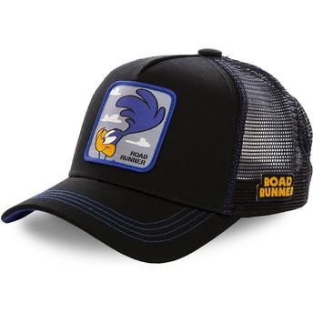 Casquette trucker noire Bip Bip ROA1 Looney Tunes Capslab