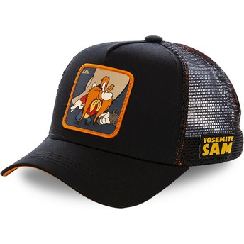 Casquette trucker noire Sam le Pirate SAM1 Looney Tunes Capslab