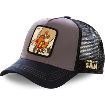 Casquette trucker grise et noire Sam le Pirate SAM2 Looney Tunes Capslab