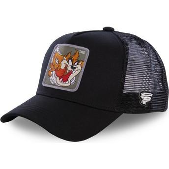 Casquette trucker noire Diable de Tasmanie TAZ3 Looney Tunes Capslab