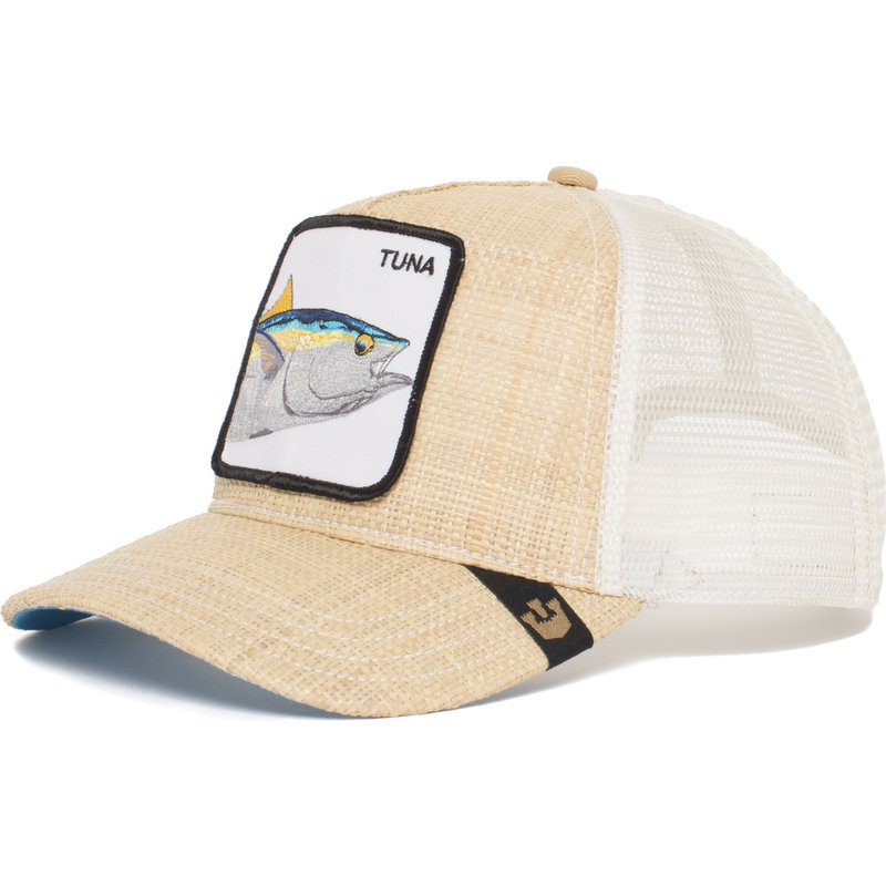 casquette-trucker-marron-thon-big-fish-goorin-bros