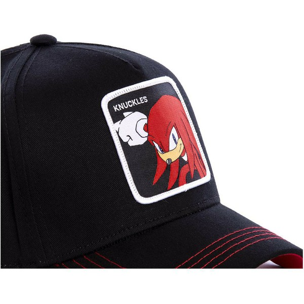 casquette-courbee-noire-snapback-knuckles-the-echidna-knub-sonic-the-hedgehog-capslab