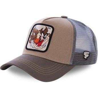 Casquette trucker marron Diable de Tasmanie TAZ3 Looney Tunes Capslab