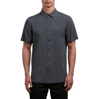 Chemise à manche courte noire Chill Out Black Volcom