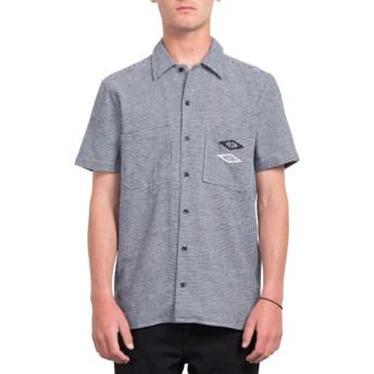 Chemise à manche courte bleue V.I. White Volcom