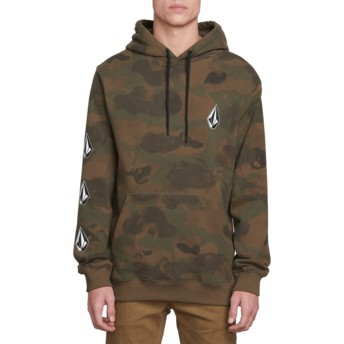 Sweat à capuche camouflage Deadly Stones Camouflage Volcom