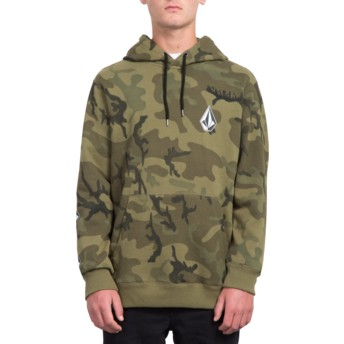 Sweat à capuche camouflage Deadly Stone Camouflage Volcom