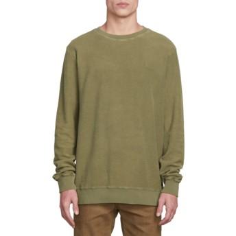 Sweat-shirt vert Sub Void Vineyard Green Volcom