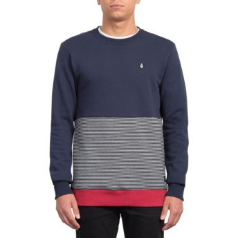 Sweat-shirt bleu marine Forzee Navy Volcom