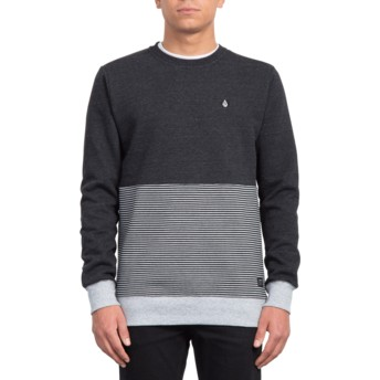 Sweat-shirt noir Forzee Sulfur Black Volcom