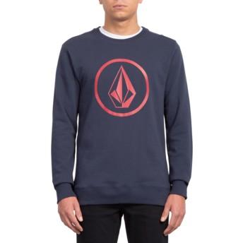 Sweat-shirt bleu marine Stone Navy Volcom