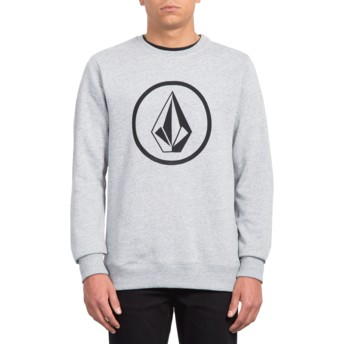Sweat-shirt gris Stone Storm Volcom