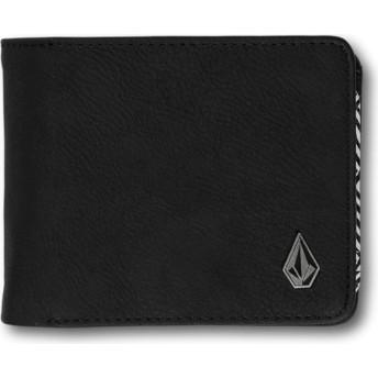 Portefeuille noir 3in1 Black Volcom