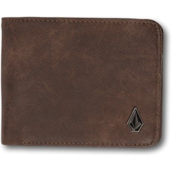 Portefeuille marron 3in1 Brown Volcom