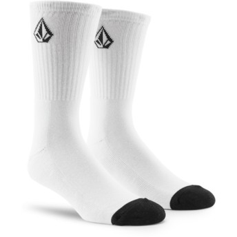 Chaussettes blanches Full Stone White Volcom