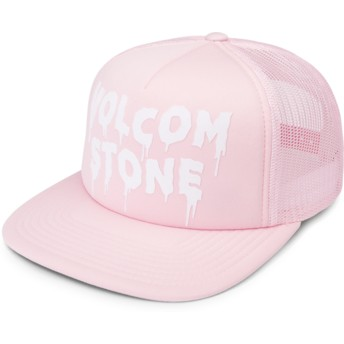 Casquette trucker rose Liberate Light Pink Volcom
