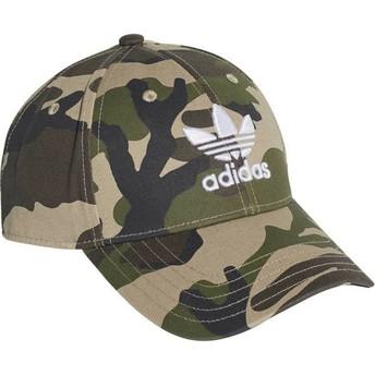 Casquette courbée camouflage ajustable Trefoil Classic Adidas