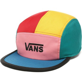 Casquette 5 panel multicolore Patchy Vans