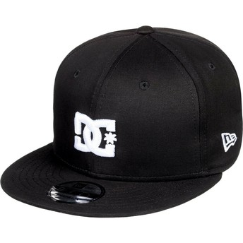 Casquette plate noire snapback Empire Fielder DC Shoes