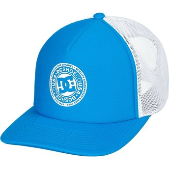 Casquette trucker bleue et blanche Vested Up DC Shoes