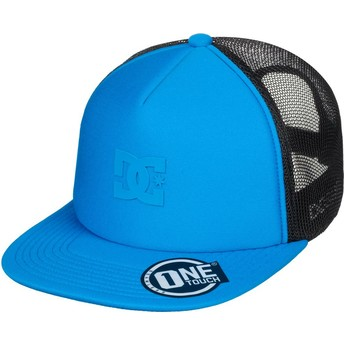 Casquette trucker bleue Greet Up DC Shoes