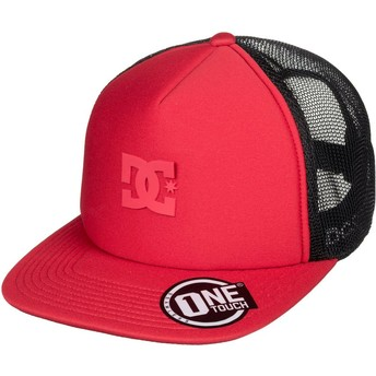 Casquette trucker rouge Greet Up DC Shoes