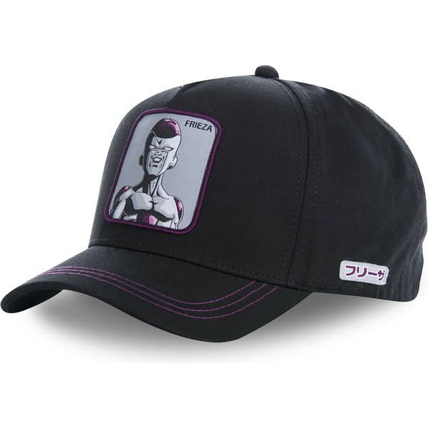 casquette-courbee-noire-snapback-frieza-frec-dragon-ball-capslab