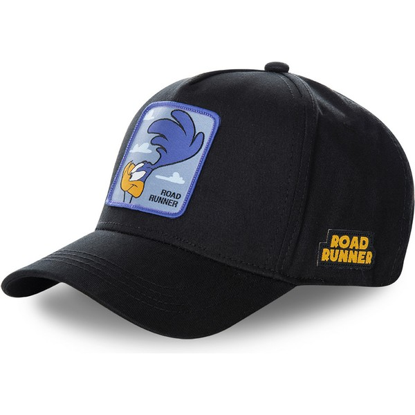 casquette-courbee-noire-snapback-bip-bip-roa3-looney-tunes-capslab