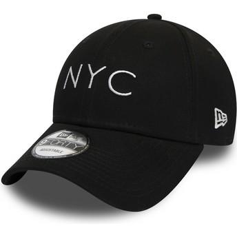 Casquette courbée noire ajustable 9FORTY Essential NYC New Era