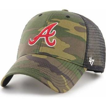 Casquette trucker camouflage MVP Branson Atlanta Braves MLB 47 Brand