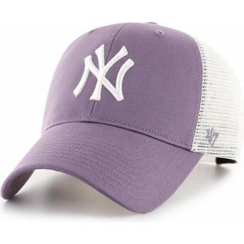 Casquette trucker violette MVP Flagship New York Yankees MLB 47 Brand
