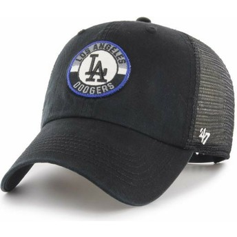 Casquette trucker noire Clean Up Porter Los Angeles Dodgers MLB 47 Brand