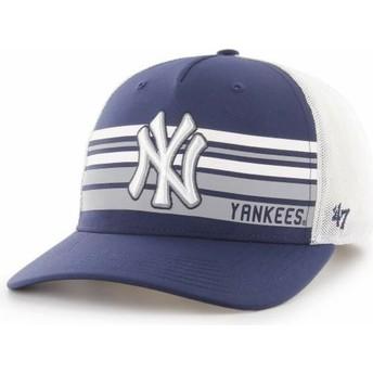 Casquette trucker bleue marine MVP DP New York Yankees MLB 47 Brand